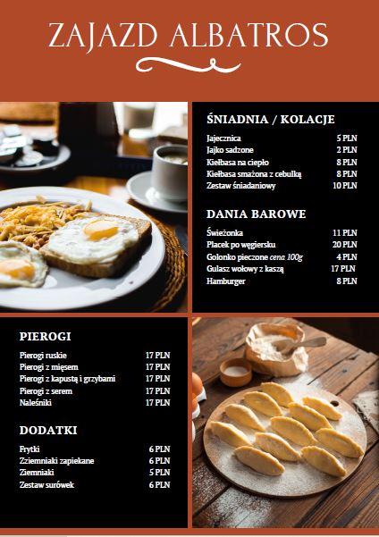menu I