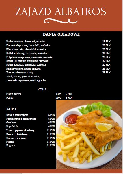 menu II